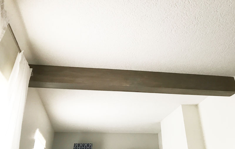 How to Make a Ceiling Beam