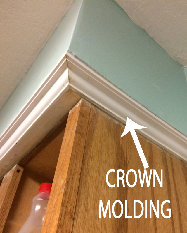 Kitchen Reno Step 2 Crown