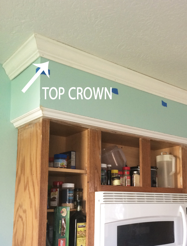 Kitchen Reno Step 3 Ceiling Crown