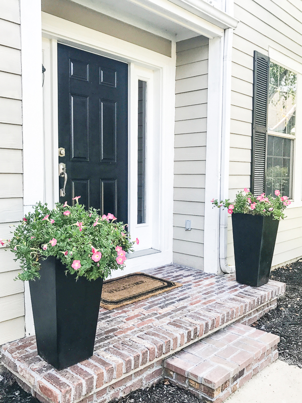 DIY Brick Porch