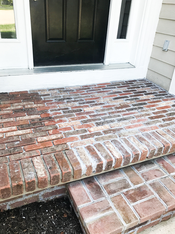 How to add brick to your porch 15