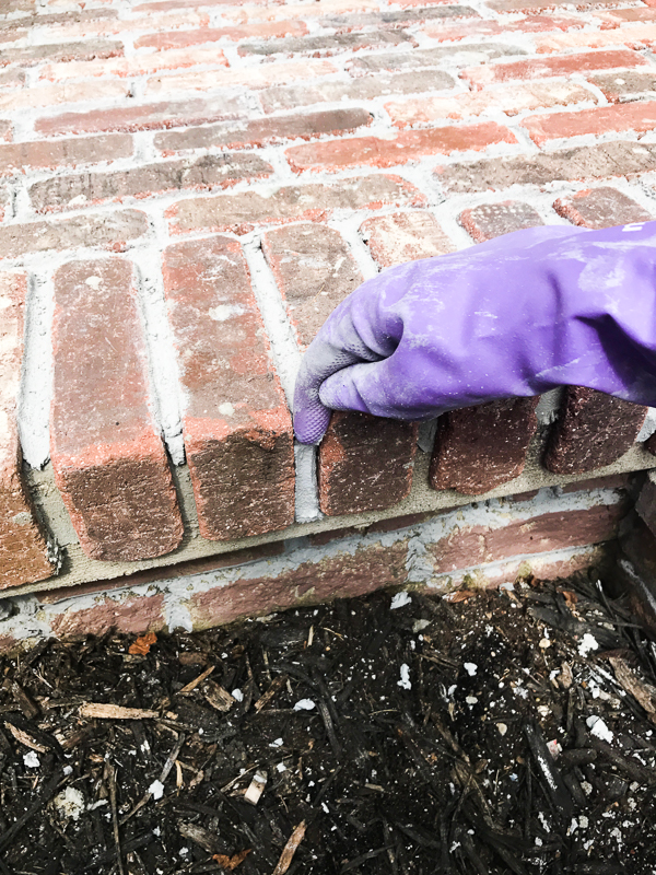 How to add brick to your porch 17