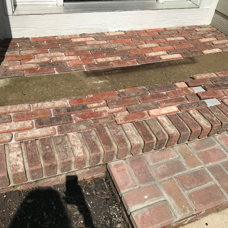 How to add brick to your porch 9-2