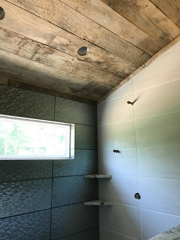 Woud Ceiling Bathroom