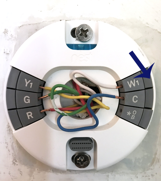 How to Install a Nest Thermostat - Provident Home Design Nest E Thermostat Wiring on