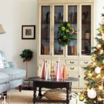 DIY Tabletop Christmas Trees
