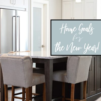 Home Goals for the New Year!