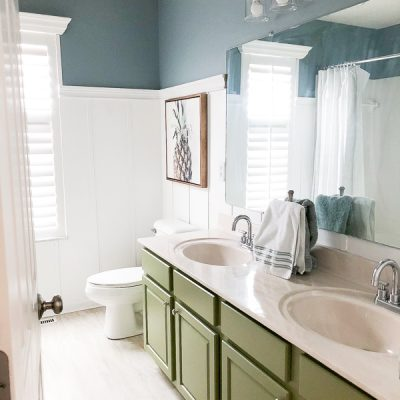 The Look for Less and a Bathroom Update!
