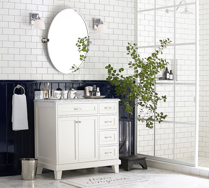 The Look For Less And A Bathroom Update Provident Home