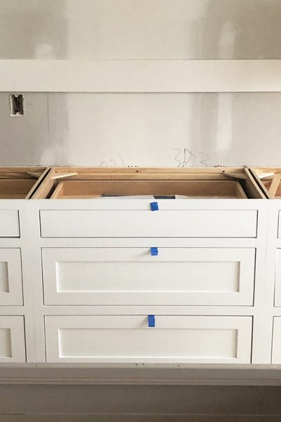 New Build Update- Cabinets are in!